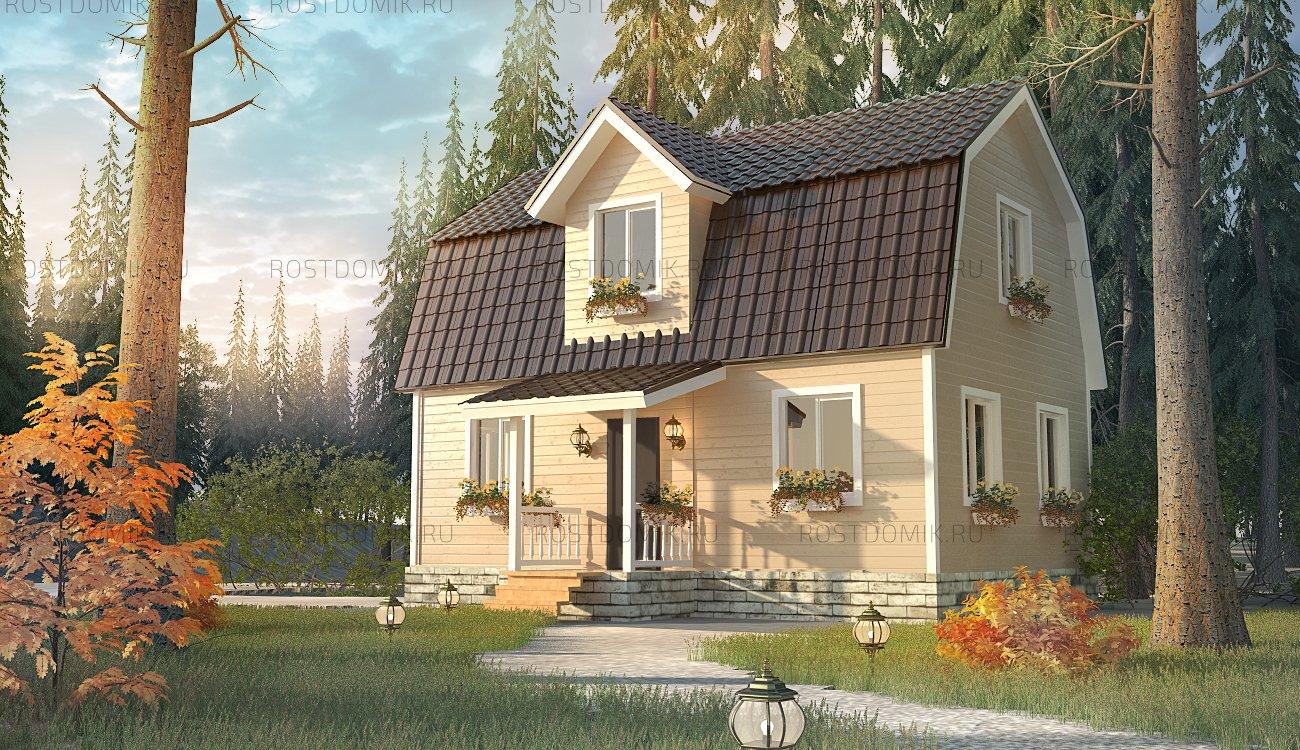 Дом Семейный 6Х9