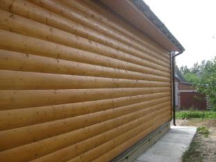 Пропитка деревянного дома