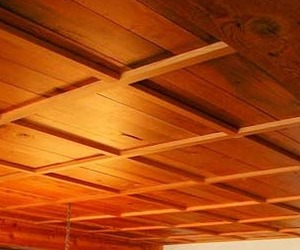 Потолок ванной комнате