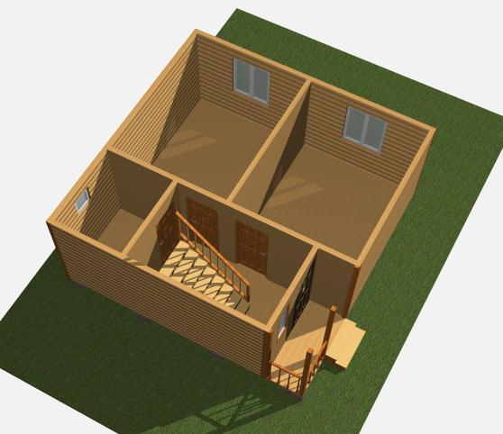 Каркасно-щитовые дома поизводство