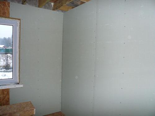 Отделка сип панелей внутри дома