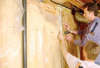 Утепление деревянных стен в доме